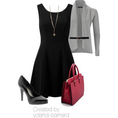 """work appropriate #73 by Yolandi Barnard"" by yolandi-barnard on Polyvore"