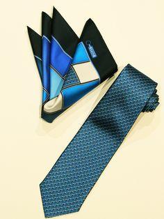 ZILLI necktie & pocketchief