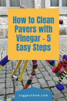 Keeping your pavers clean is an important part of paver maintenance. Dirt and grease can buildup and get into the gaps to make them look dirty. So, how do you clean pavers with vinegar? Although there are many ways, this is the best way to clean pavers efficiently. Follow these 5 steps guide for an amazing result. #homehacks #cleaning #DIY #home #cleaningwithvinegar Cleaning Pavers, Cleaning Diy, Deep Cleaning Tips, Bathroom Cleaning, Using Vinegar To Clean, How Do You Clean, Clean And Shiny, Concrete Blocks, Shower Tub