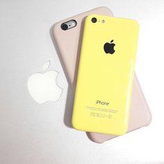 I devices #iphone6s #iphone5c #macbookpro