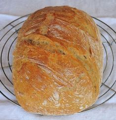 Bread Recipes, Cooking Recipes, Bread And Pastries, Bread Rolls, Savoury Dishes, Food To Make, Food And Drink, Yummy Food, Homemade