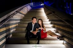 Love the steps and the lighting. Mosaic | Orange County Wedding Photographer Los Angeles - Part 6