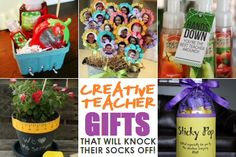 10 Teacher Gift Ideas That Will Knock Their Socks Off