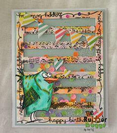 The Rubber Buggy: Crazy Bird Birthday! #crazybird #cardmaking #handmadecard…