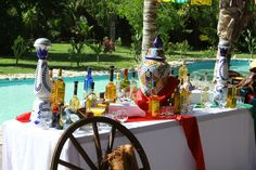 Tequila tasting station is a great addition to a Cinco de Mayo event! Tequila Tasting, Run For The Roses, Happy Mothers Day, Bbq, Parties, Party Ideas, Table Decorations, Cinco De Mayo, El Dorado