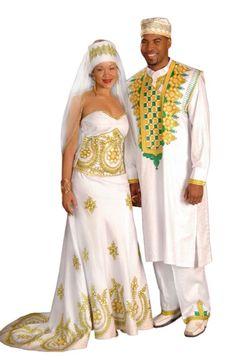 African Bride Groom Dress
