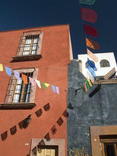 Guirnaldas en San Miguel De Allende.