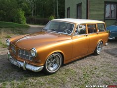 Garaget | Volvo Amazon (1965) Volvo Wagon, Volvo Cars, Volvo V50, Automobile, Koenigsegg, Station Wagon, Custom Cars, Cars And Motorcycles, Dream Cars