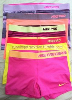 Nike pros--my personal goal to be fit/confident enough to run in Nike Pros and a sports bra!! #summer2013 #itsgonnahappen