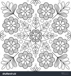 Find Beautiful Folk Art Motif stock images in HD and millions of other royalty-free stock photos, illustrations and vectors in the Shutterstock collection. Thousands of new, high-quality pictures added every day. Chain Stitch Embroidery, Crewel Embroidery Kits, Floral Embroidery Patterns, Hand Work Embroidery, Learn Embroidery, Hand Embroidery Designs, Flower Patterns, Mexican Embroidery, Hungarian Embroidery