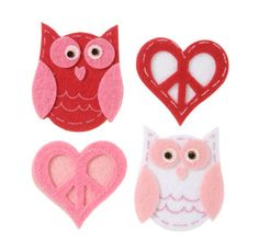 Creatology™ Valentine's Felt Stickers