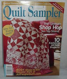 My favorite Quilting Magazine!