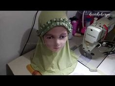 Tutorial menjahit kerudung anak model rempel   Tutorial to make kids hijab model rempel - YouTube Hijab, Second Hand, Baby Dress, Projects To Try, Youtube, Model, Dresses, Vestidos
