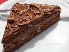 Tarta Bombón, Delicias en Chocolate  <3