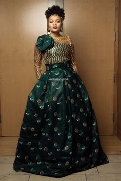 Gala: LOFA Magazine's Best Dressed Women at Africa Gives Back International Gala 2018 Next Dresses, Gala Dresses, Modest Dresses, Stylish Dresses, Dresses For Sale, Dresses For Work, African Print Fashion, African Fashion Dresses, African Dress