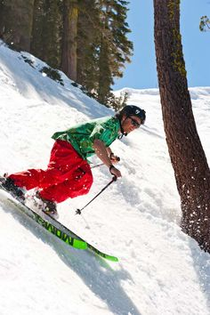 Spring Skiing at Squaw Valley  Ski Season is here in Ski Lake Tahoe!! Squaw Valley California Resort Take the bus from the east bay up to Squaw Valley with Bay Area Ski Bus! Use promo code: pinitbasb2014 Get $10 off to Squaw Valley! http://www.bayareaskibus.com/