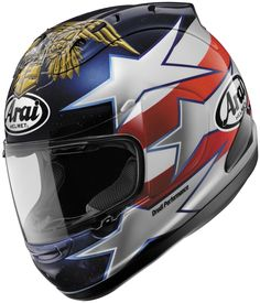 Arai Helmets Corsair V Edwards Patriot Helmet