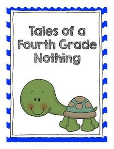 Tales Of A Fourth Grade Nothing Reading Response Questions on