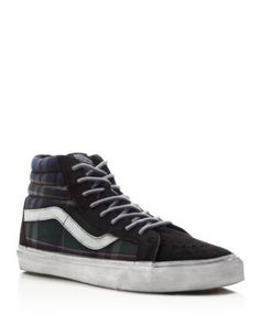d984f5b999 VANS Hi Reissue Ca Overwashed Plaid Sneakers.  vans  shoes  sneakers Vans Hi