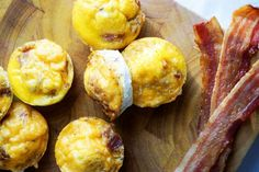 bacon egg cups horizontal
