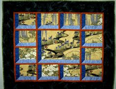 """Another Attic Window"" by Millie Becker, showcasing Asian prints"