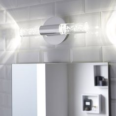 Applique Bula, LED 2 x 5 W, LED intégrée blanc froid | Leroy Merlin
