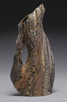 Carrie Doman Jug – exploring nature's textures through clay.