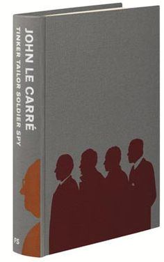 Fantastic, minimalist book jacket design by Tim Laing for Tinker Tailor Soldier Spy. Naturally, it makes me want to buy the book, now.