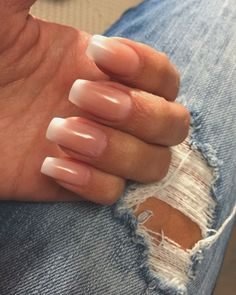 French Manicure Ombre #nails #ombre #french