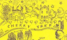 MARY POPPINS IN THE PARK: Berts pitch on Cherry Tree Lane; Illustration by Mary Shepard 1952