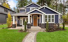 Trendy farmhouse exterior design curb appeal wrap around porches 22 Ideas Exterior Color Schemes, Design Exterior, House Paint Exterior, Dream House Exterior, Exterior House Colors, House Siding, House Ideas Exterior, Home Exteriors, Tin Roof House