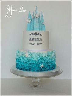 Frozen - Cake by Maira Liboa