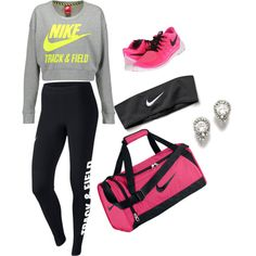track and feild outfit