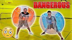 MOST DANGEROUS CHALLENGE EVER!! (GIANT BALLOON SUMO CHALLENGE) - YouTube
