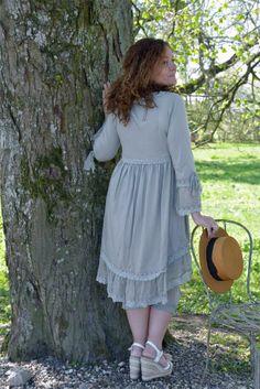 Romantic dress...romantische jurk van Jeanne d'arc living. Mooi!