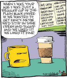"""Reality Check"" by Dave Whamond ~ Regular Cup of Joe Coffee Zone, Coffee Talk, I Love Coffee, Black Coffee, Coffee Break, My Coffee, Coffee Shop, Coffee Humor, Coffee Quotes"