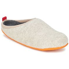 Camper has created the Wabi slipper for fans of everyday relaxed comfort. #shoes #slippers #slipons #comfy #cozy #campershoes #winter #womens #fashion #uk