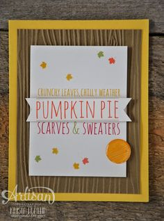 quick & easy card with the Seasonal Snapshot Project Life Collection!