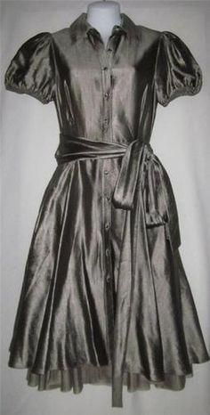 Bcbg Maxazria Size 2 Dress NEW Womens Small Dress Ladies Size 2 Tarnished Silver  $129.99
