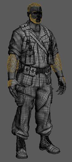 Wolverine - Sabertooth wire by Alessando Baldasseroni