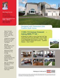 11353-110 Avenue Cresent  Fairview, AB  MLS# L100773