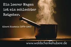 Zitat der Woche: Ein leerer Magen... - https://www.eiscafekeltern.de/zitat-der-woche-ein-leerer-magen/