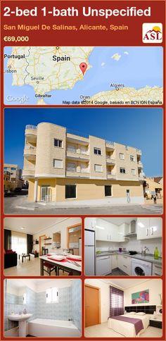 2-bed 1-bath Unspecified in San Miguel De Salinas, Alicante, Spain ►€69,000 #PropertyForSaleInSpain