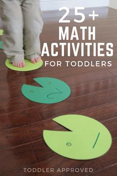 Toddler Approved!: 25+ Hands-On Math Activities for Toddlers