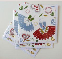Turtle Doves Card Set £6.00