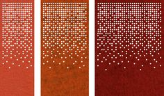 Cool stuff.  Thick wool felt is cut out to various standard and custom patterns, three widths X 8' height for divider or screen.  47 colors.  FilzFelt   Standard Sizes