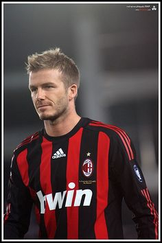 david beckham of AC Milan