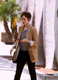 Lily Collins.....