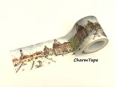 City Square Washi Tape Super-Wide 40mm x 5m WT962   #WashiTape #WavesTape $3.65 buy from https://www.charmtape.com  #40mm #Masking #tape #roll #Craft #Hobby #nature #simplicity #washitape #washilove #washipaper #washitapes #planneraddict #plannerstickers