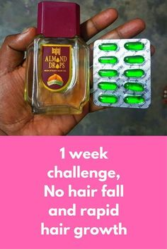 1 week challenge, No hair fall and rapid hair growth Today I am going to share an super effective remedy that will first stop your hair fall and will also open closed hair follicles so that new hair growth will start. In just 1 month you can feel that you